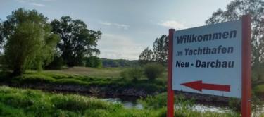 Wilkommen im Sportboothafen Neu Darchau